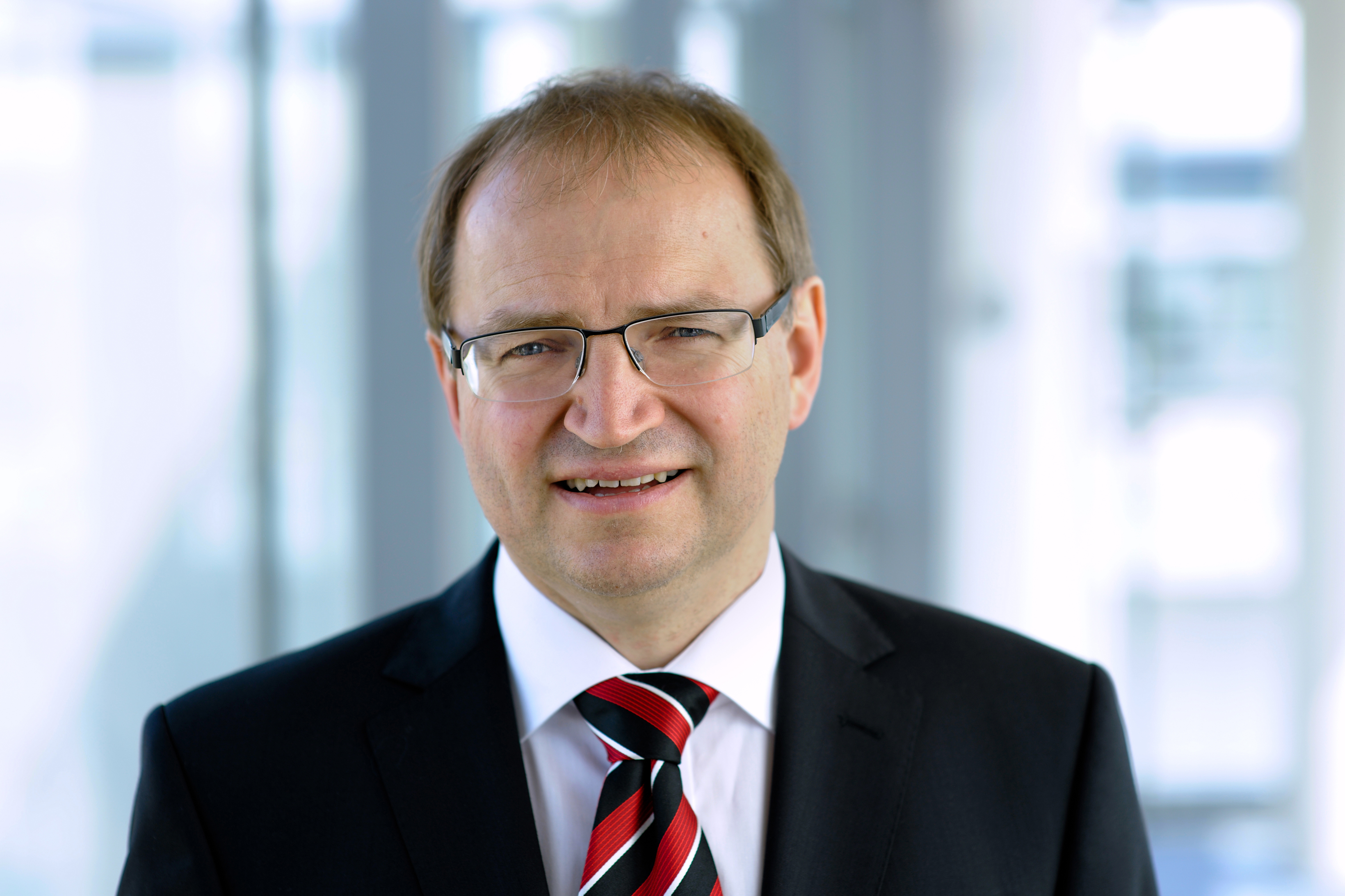 Dr. Bernhard Grill, director of Fraunhofer IIS with focus on Audio & Multimedia