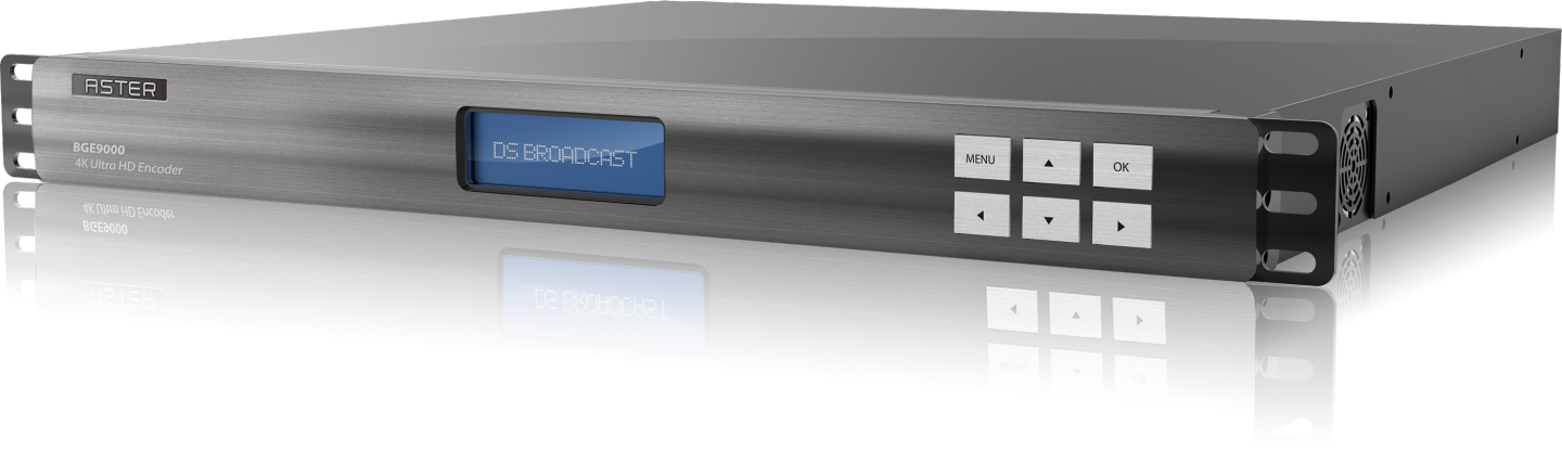 The BGE9000 4K Ultra HD Encoder supports MPEG-H Audio.